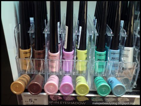 Some New an Less New Max Factor Products in Müller