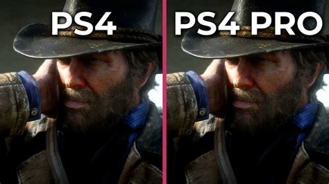 Red Dead Redemption 2 – PS4 vs