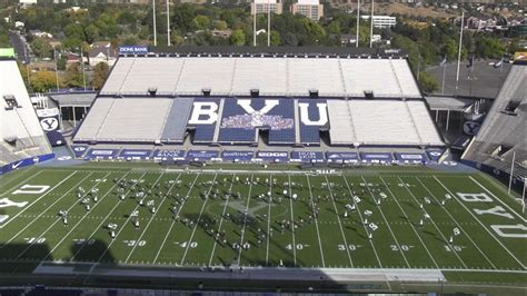 BYU Cougar Marching Band plays music from 'Star Wars: The