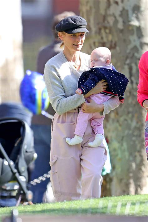 diane kruger enjoys a beautiful day with her son in