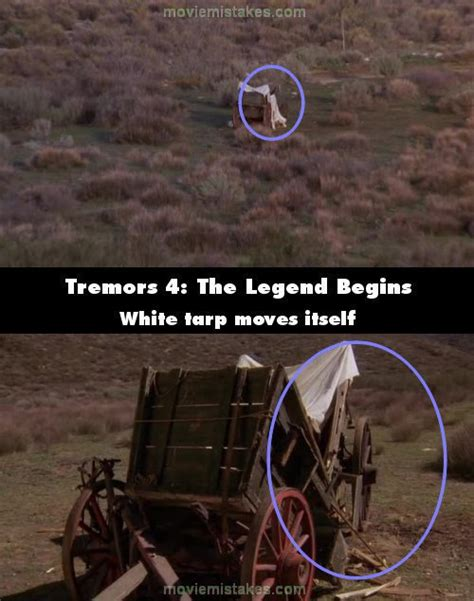 Tremors 4: The Legend Begins (2004) mistakes