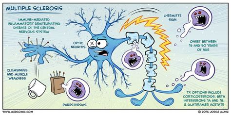 Learn multiple sclerosis with the power of comics