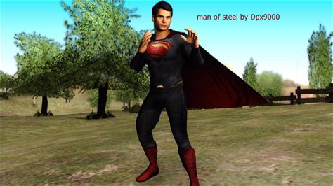Man of steel mod for Grand Theft Auto: San Andreas - Mod DB