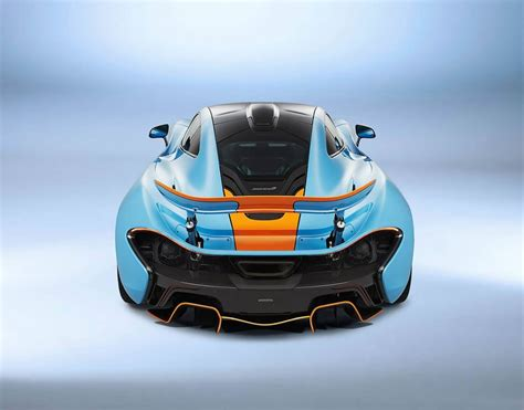 One-off McLaren P1 with classic Gulf Oil racing livery is