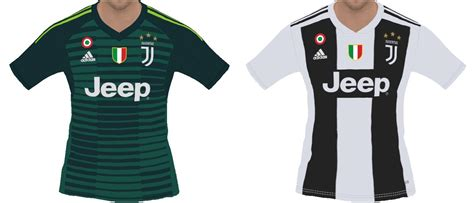 Juventus 2018-2019 Home-GK Kits For Pes 2018 - PES Patch