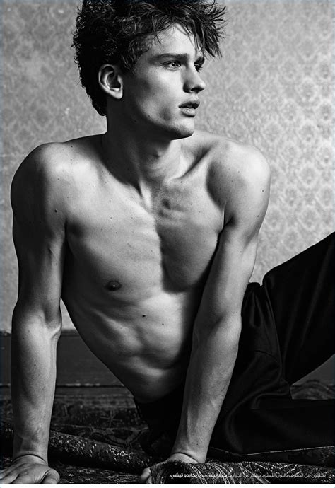 Another Love: Simon Nessman Poses for H Magazine | The