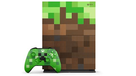 Now Official: Microsoft announce Xbox One S Minecraft